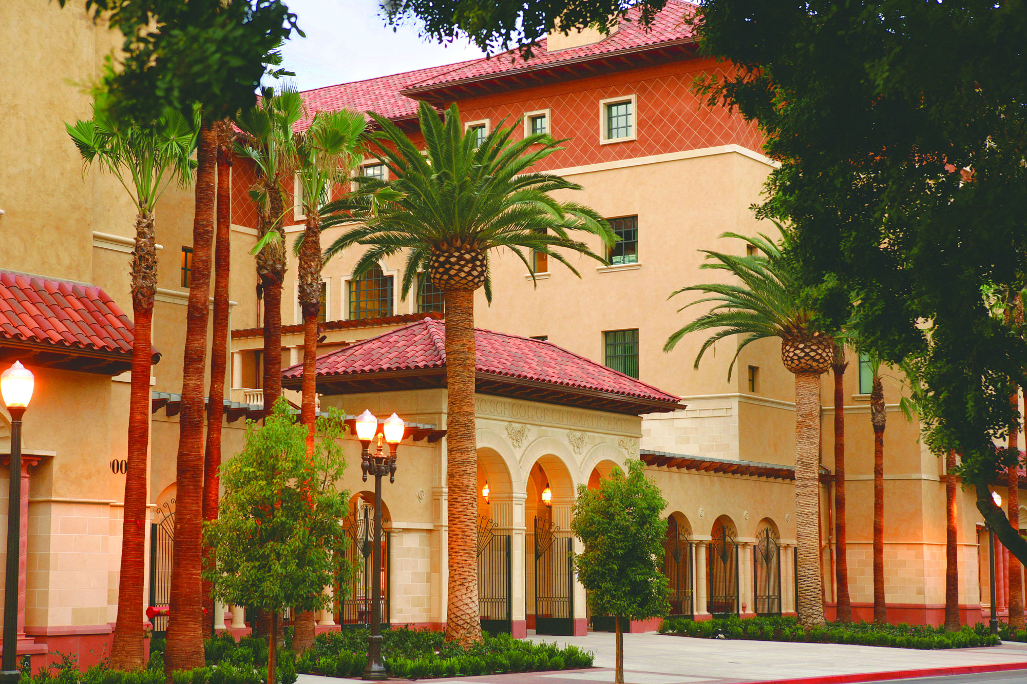 USC School of Cinematic Arts Front-gate